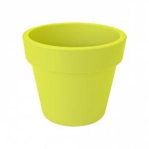 green basics top planter 40cm lime green 8711904266394